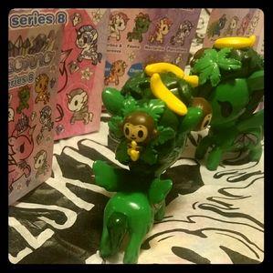 "3/$50- 2 x Tokidoki Unicorno ""Fauna"""